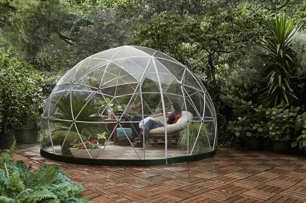 Garden Igloo, kesähuone