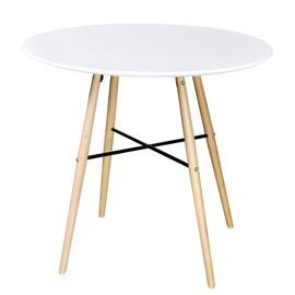 Ruokapöytä, pyöreä, 80 cm