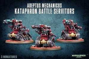 Adeptus Mechanicus Kataphron Battle Servitors WH40