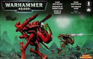 Eldar Warwalker '06 WH40