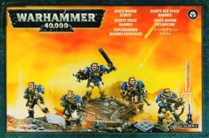 Space Marine Scouts WH40