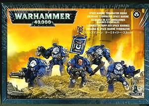 Space Marine Terminator Squad (5 models) WH40