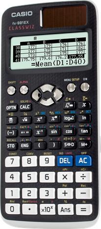 Casio FX-991EX, laskin