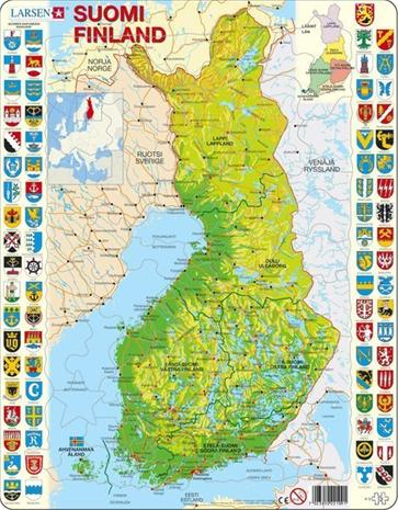 Suomen Kartta Palapeli Hintaseuranta Fi