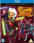 Star Wars: The Clone Wars - Kaudet 1-5 (Blu-Ray), TV-sarja