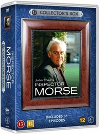 Komisario Morse (Inspector Morse): kaudet 1-7, 5 erikoisjaksoa ja 2 dokumenttia, TV-sarja