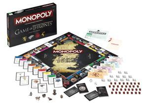 Monopoly: Game Of Thrones, lautapeli