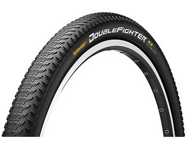 Continental Double Fighter III Reflex MTB tyre black 27,5x2,0