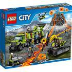 Lego City Volcano Explore 60124, tulivuoren tutkimustukikohta