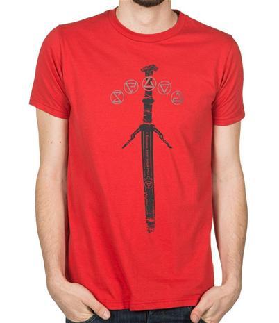 The Witcher Silver Sword, miesten t-paita