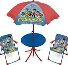 Paw Patrol (Ryhmä Hau), Pöytä & Päivänvarjo & 2 tuolia, Is on a roll