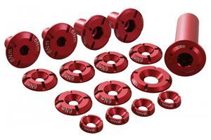 VOTEC ANO-varaosasetti rungon tarvikkeet ANO, punainen