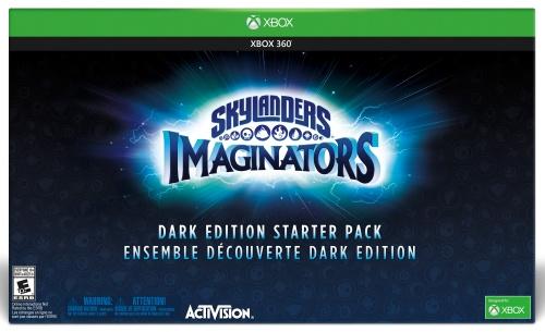 Skylanders Imaginators Starter Pack Dark Edition, Xbox 360 -peli
