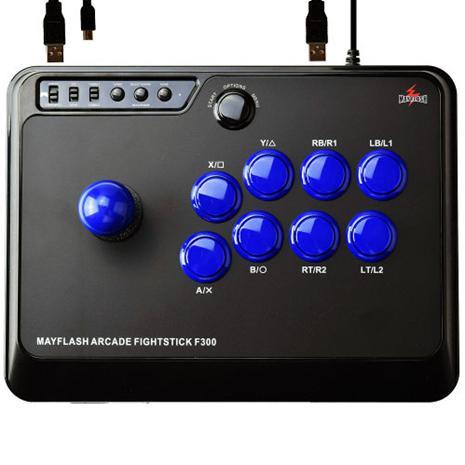 MayFlash F300 Arcade Fightstick (PS4/PS3/XONE/X360/PC), peliohjain