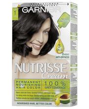 Garnier Nutrisse Cream 1 Musta kestoväri
