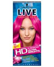 Live Color Ultra Brights 93 pinkki hiusväri