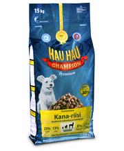 Hau-Hau Champion Kana-riisi, täysravinto15 kg