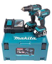 Makita DLX2127MJ LXT 18V 2x4,0Ah, akkukonesarja + Makpac