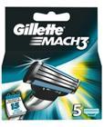 Gillette Mach3, vaihtoterät 5 kpl