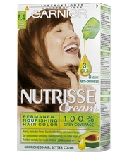 Garnier Nutrisse Cream 5.4 Kuparinruskea kestoväri