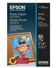 Epson Photo Paper Glossy 10x15 cm 50 arkkia