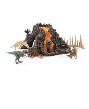 Schleich 42305, Tulivuori ja dinosaurukset