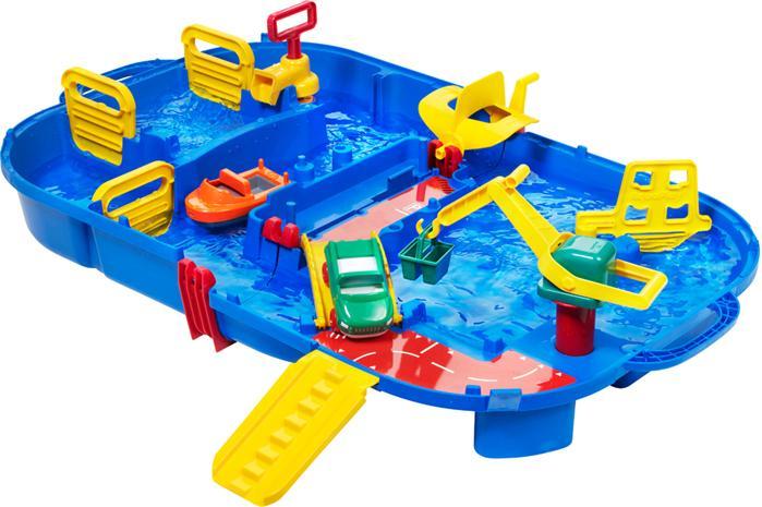 Aquaplay, Aqualand sulkuportilla