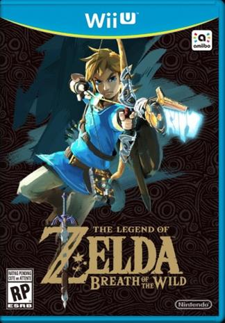 The Legend Of Zelda: Breath Of The Wild, Nintendo Wii U -peli
