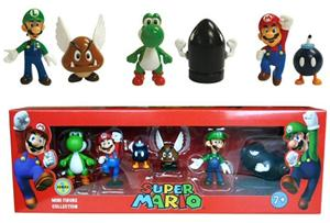 Nintendo Super Mario, hahmot 5 kpl