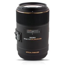 Sigma 105mm F2.8 EX DG OS HSM Macro, objektiivi