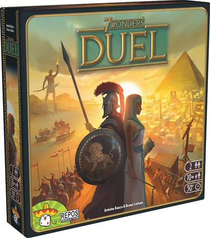 7 Wonders: Duel (suomeksi)