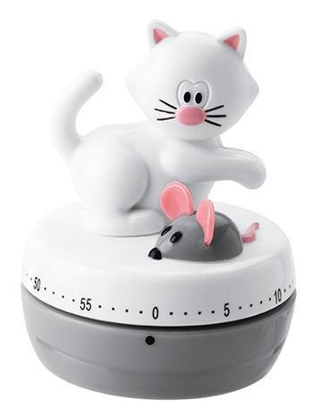Munakello 'Kissa ja hiiri' joie vaaleanharmaa
