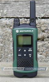 Motorola T81 Hunter -radiopuhelin (vihreä/musta)