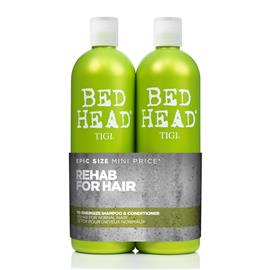 Tigi Bed Head Re-Energize Set (Shampoo 750ml + Conditioner 750ml)
