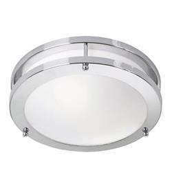 Täby LED Plafondi Kromi/Valkoinen Markslöjd