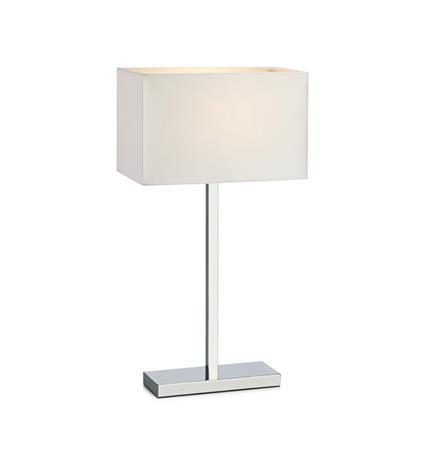 Savoy Pöytälamppu Kromi/Valkoinen Markslöjd
