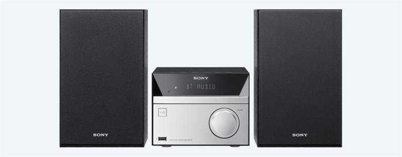 Sony CMT-SBT20B, mikrosarja