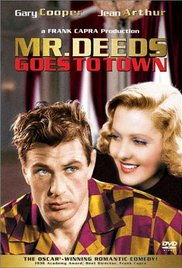 Mr. Deeds Goes To Town (1936, Blu-ray), elokuva
