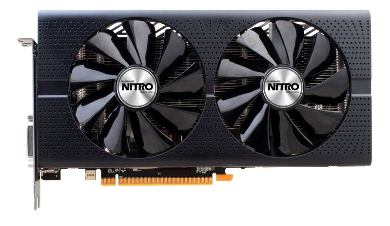 Sapphire Radeon RX 480 NITRO+ 4 GB, PCI-E, näytönohjain