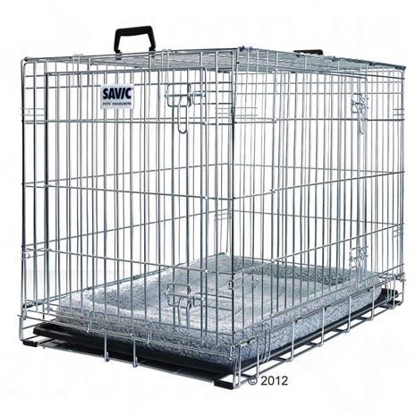Savic Dog Residence koiranhäkki + tyyny - P 107 x L 71 x K 81 cm
