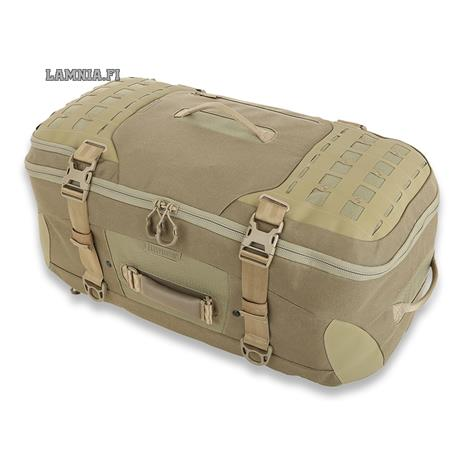 Maxpedition AGR Ironstorm Adventure Travel Bag laukku, tan