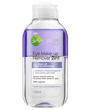 Garnier Skin Active 2in1 125 ml silmämeikinpoistoaine