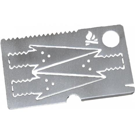Bushcraft Essentials Survival Card, avaimenperä
