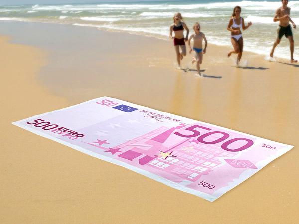 500 euron setelipyyhe