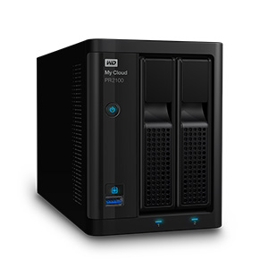 WD My Cloud Pro Series PR2100 (8 TB) WDBBCL0080JBK, NAS-asema