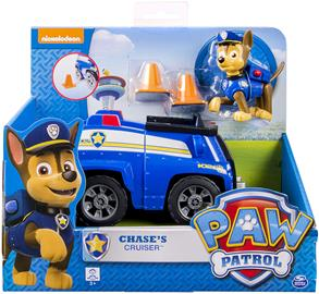 Paw Patrol, Basic Vehicle With Pup, Chase