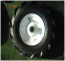 Ilmakumipyörä 15x500-6 Metallivanne