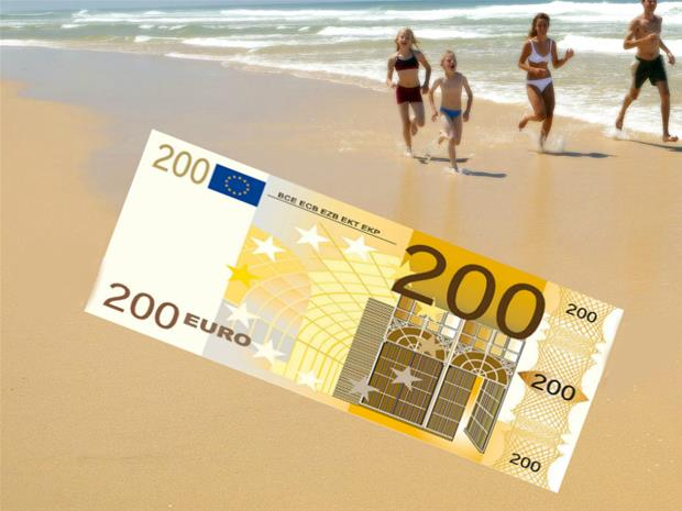 200 euron setelipyyhe