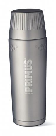 Primus TrailBreak juomapullo Stainless Steel 750ml , harmaa