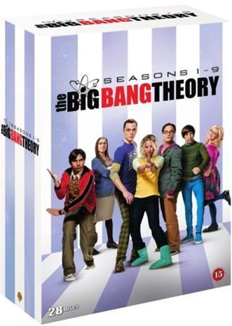 Rillit huurussa (The Big Bang Theory): Kaudet 1-9, TV-sarja